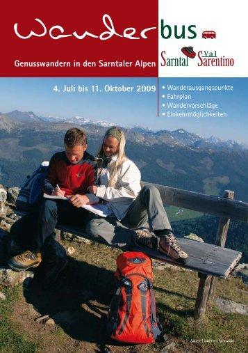 Wanderbus - Sarntal
