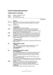 centrale medezeggenschapsraad verslag cmr-37/10-09-2002 - Hku