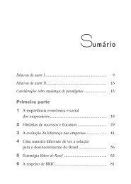 Leia o sumário e as primeiras páginas deste livro ... - Grupo Summus