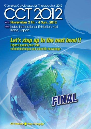 CCT2012 Final Program(PDF)