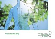 Heimbeatmung Therapien - Lungenliga