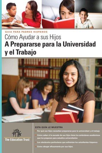 A Prepararse para la Universidad y el Trabajo