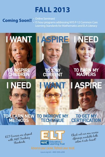Fall 2013 Catalog - NYSUT