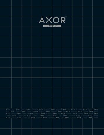 Axor Catalogue - Masco Canada