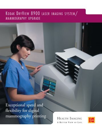 Exceptional speed and flexibility for digital mammography printing