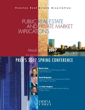 public real estate and private market implications - Pension Real ...