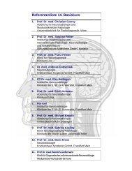 Referentenliste 14. Basiskurs - Basiskurs Neuroradiologie