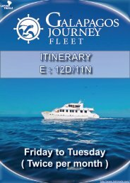 ITINERARY E : 12D/11N - Latin Trails