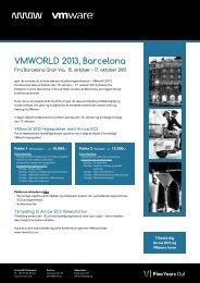 VMWORLD 2013, Barcelona - Arrow ECS