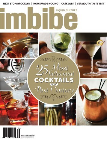 The 25 Most Influential Cocktails of the Past Century - The Cocktail ...