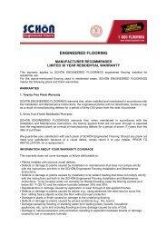 ENGINEERED FLOORING - Lumber Liquidators