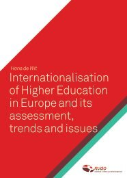 Internationalisation of Higher Education in Europe and its ... - NVAO