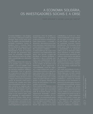 Ler artigo_PDF - sala de imprensa do CES - Universidade de Coimbra