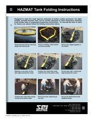 2011 Hazmat Tank Folding Instructions - SEI Industries Ltd.