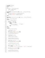 1: program DLstOrd; 2: uses LstOrd; 3: 4: var 5: Lista ... - Ufs