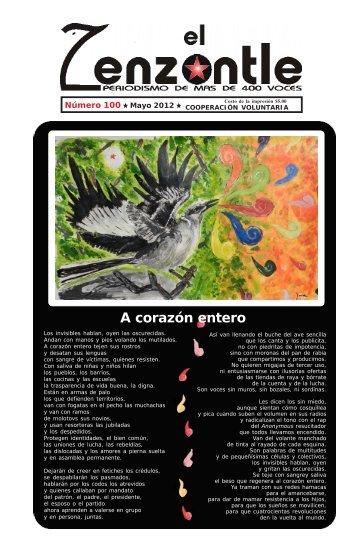 ZENZONTLE100 final.pmd - El Zenzontle, periodismo de más de ...