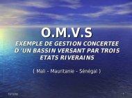 missions de l'omvs - INBO