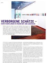 TOP Magazin, Kunstsammlungen in Frankfurt und ... - praegnant.info
