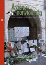 Numero 6 - Giugno 2008 - Movimento Nonviolento