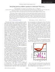 Interpreting quantum oscillation experiments on underdoped ...