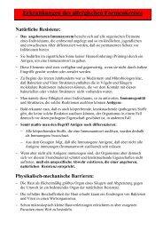 Allergischer Formenkreis - Frintroper Praxis für Naturheilkunde