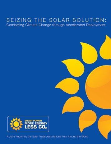 SEIZING THE SOLAR SOLUTION: - Global Energy Network Institute