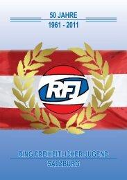 50 JAHRE 1961 - 2011 RING FREIHEITLICHER JUGEND SALZBURG