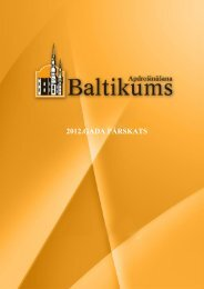 2012.gada pārskats - Baltikums