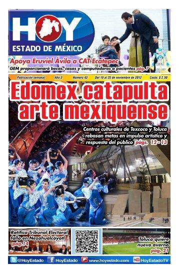 Apoya Eruviel Ávila a CAT Ecatepec - HOY Estado de México