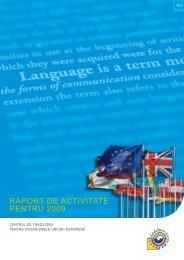 Activity report 2009 - Europa