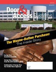 The Wayne-Dalton Purchase: - Dasma.com