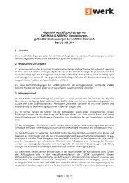 AGB Dienstleistungen Österreich - S.WERK Informationstechnologie ...