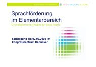 Vortrag Frau Dr. Lütke-Entrup - Niedersächsisches Kultusministerium