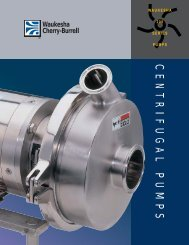 200 Series Centrifugal Pumps Brochure - Liquidyne