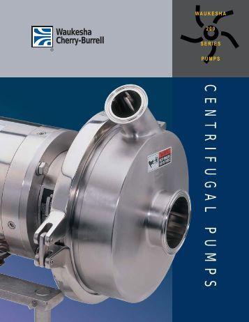 200 Series Centrifugal Pumps Brochure - Liquidyne
