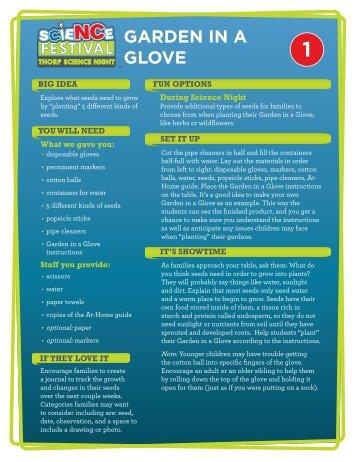 Activity Guides - North Carolina Science Festival