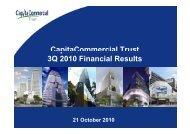 Presentation Slides - CapitaCommercial Trust
