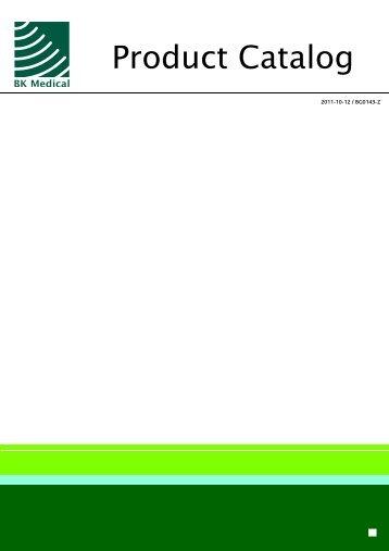 Product Catalog - BK Medical