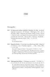 Olof Palme : en bibliografi - olofpalme.org
