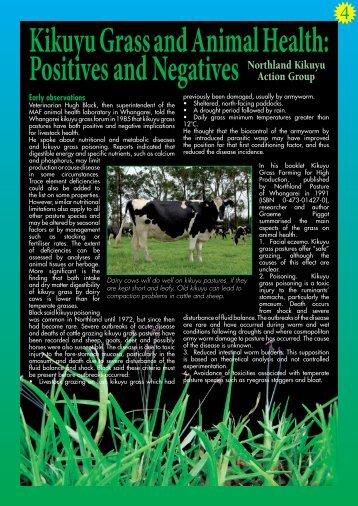 Chapter 4: Animal health [339K PDF]