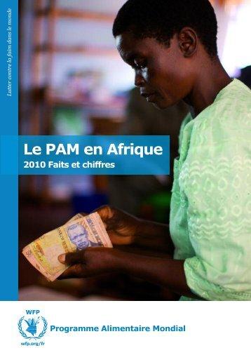 Le PAM en Afrique - WFP Remote Access Secure Services