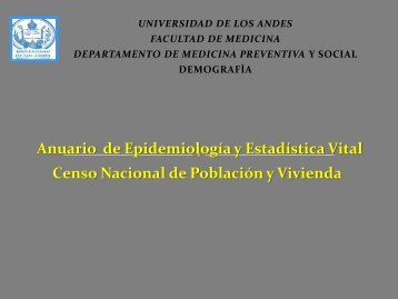 Censo - Medic.ula.ve - Universidad de Los Andes
