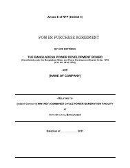 4. power purchase agreement(ppa) - BPDB