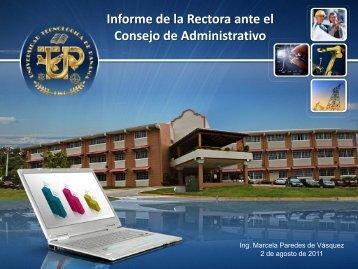 Julio 12 - Universidad Tecnológica de Panamá