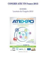 Téléchargement du dossier des Lauréats 2013. - Atec/ITS France