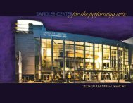 Download - Sandler Center for the Performing Arts