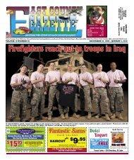 Gazette 123109.indd - East County Gazette
