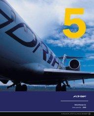 Adria Airways d.d. Letno poročilo 2005 A dria Airw a ys d.d. Le tn o p ...