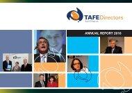 ANNUAL REPORT 2010 - TAFE Directors Australia