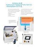 Komory solne oraz komory cykliczne do testów korozyjnych - Page 5
